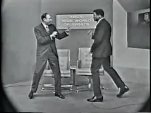Watch Muhammad Ali: The Original Moonwalk GIF on Gfycat. Discover more ali, moonwalk, muhammad GIFs on Gfycat
