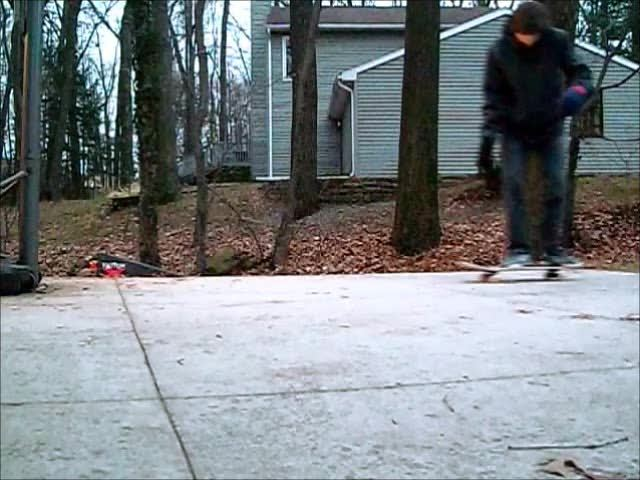 newskaters, Super sketchy, but I somehow pulled it off. My first tre!! (reddit) GIFs