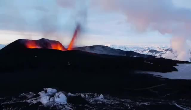 Watch Eyjafjallajoekull eruption at Iceland GIF on Gfycat. Discover more related GIFs on Gfycat