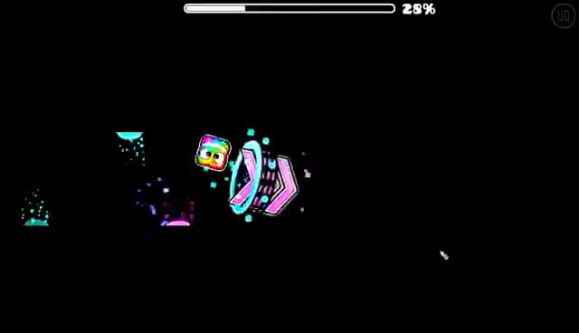 """Watch and share """"WTF IS GD ANYMORE"""" - SINE WAVS 100% [INSANE DEMON] - BY THEREALDORAMI - GEOMETRY DASH [2.1] GIFs on Gfycat"""