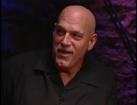 Wwe Beyond The Mat Dinner With Gov Jesse Ventura Mick Foley Gif