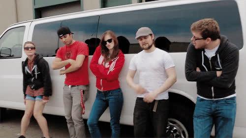 ApprenticeEh, Corey Vidal, CoreyVidal, team, van, ApprenticeEh Van GIFs