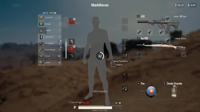 Watch vlc-record-2018-08-02-01h50m53s-PLAYERUNKNOWN GIF on Gfycat. Discover more PUBATTLEGROUNDS, pubg GIFs on Gfycat