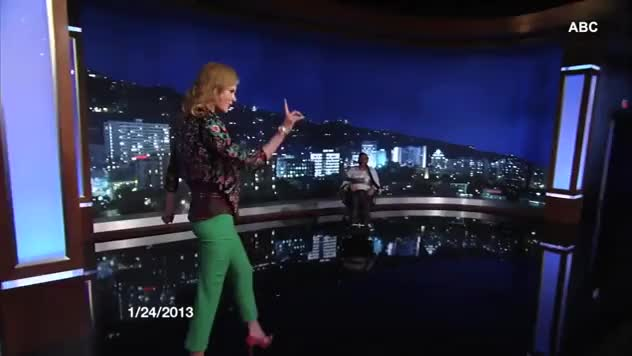 Watch and share Jimmy Kimmel Embarrasses Nicole Kidman With Lap Dance Clip GIFs on Gfycat