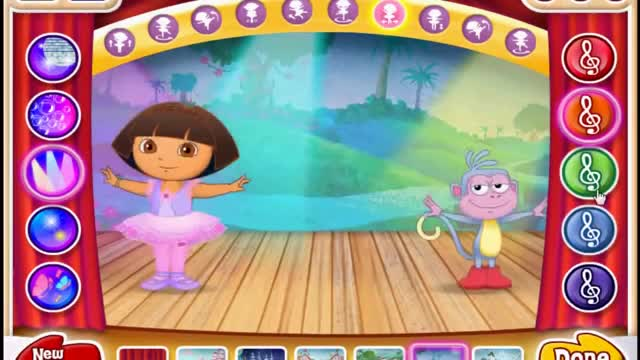 Dora the explorer ballet very