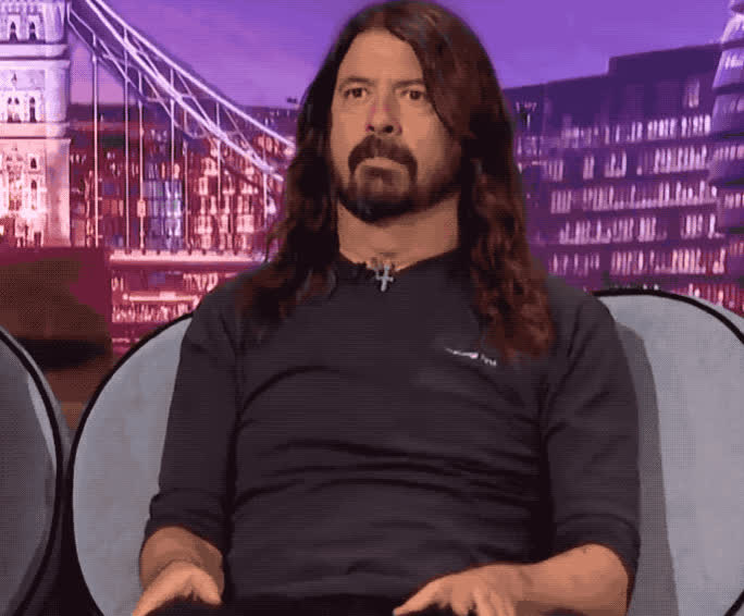 celebrity, celebs, dave, dave grohl, embarrassed, embarrassing, god, grohl, hide, hiding, my, oh, omg, Dave Grohl - OMG GIFs