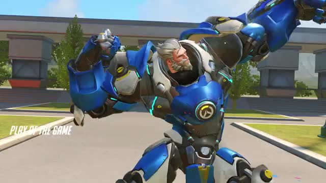 Watch brawl GIF by Trox (@troxellophilus) on Gfycat. Discover more overwatch, potg, reinhardt GIFs on Gfycat