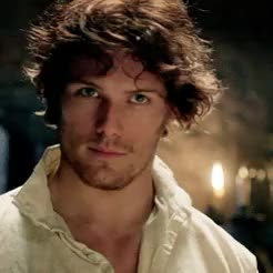Watch and share Jamie Fraser GIFs and Sam Heughan GIFs on Gfycat