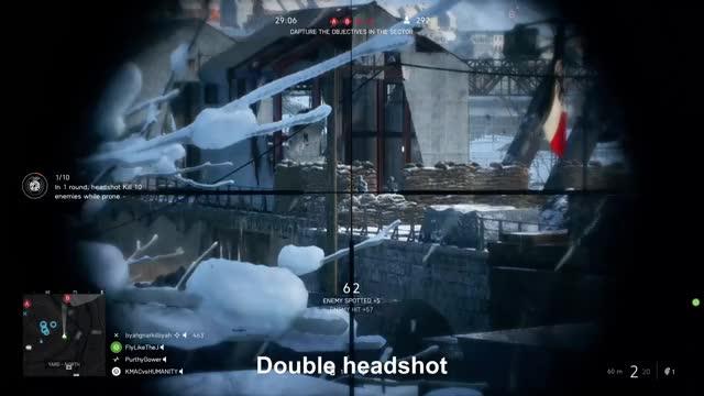Watch Double headshot GIF by Xbox DVR (@xboxdvr) on Gfycat. Discover more BattlefieldV, KMACvsHUMANITY, xbox, xbox dvr, xbox one GIFs on Gfycat