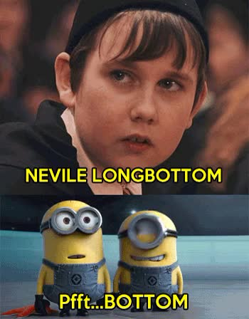 Watch and share Neville Longbottom GIFs and Cattivissimo Me GIFs on Gfycat