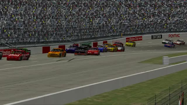 Watch and share NASCAR Racing 2003 Season 2019.09.09 - 15.00.21.02 GIFs by Jack on Gfycat
