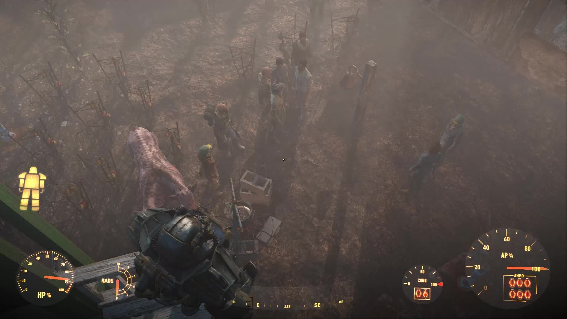 60fpsgifs, accidentalcomedy, randomactsofgaming, Fall out in Fallout GIFs