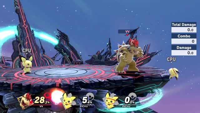 Watch and share Bowser V Pichu Ledge Getup Coverage 1 – SSBU Clip – SSBU GIFs by William on Gfycat