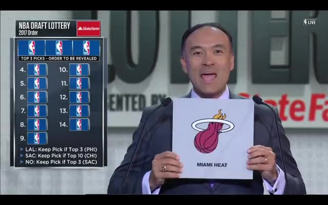 Watch and share Miamiheat GIFs and Nbadraft GIFs on Gfycat