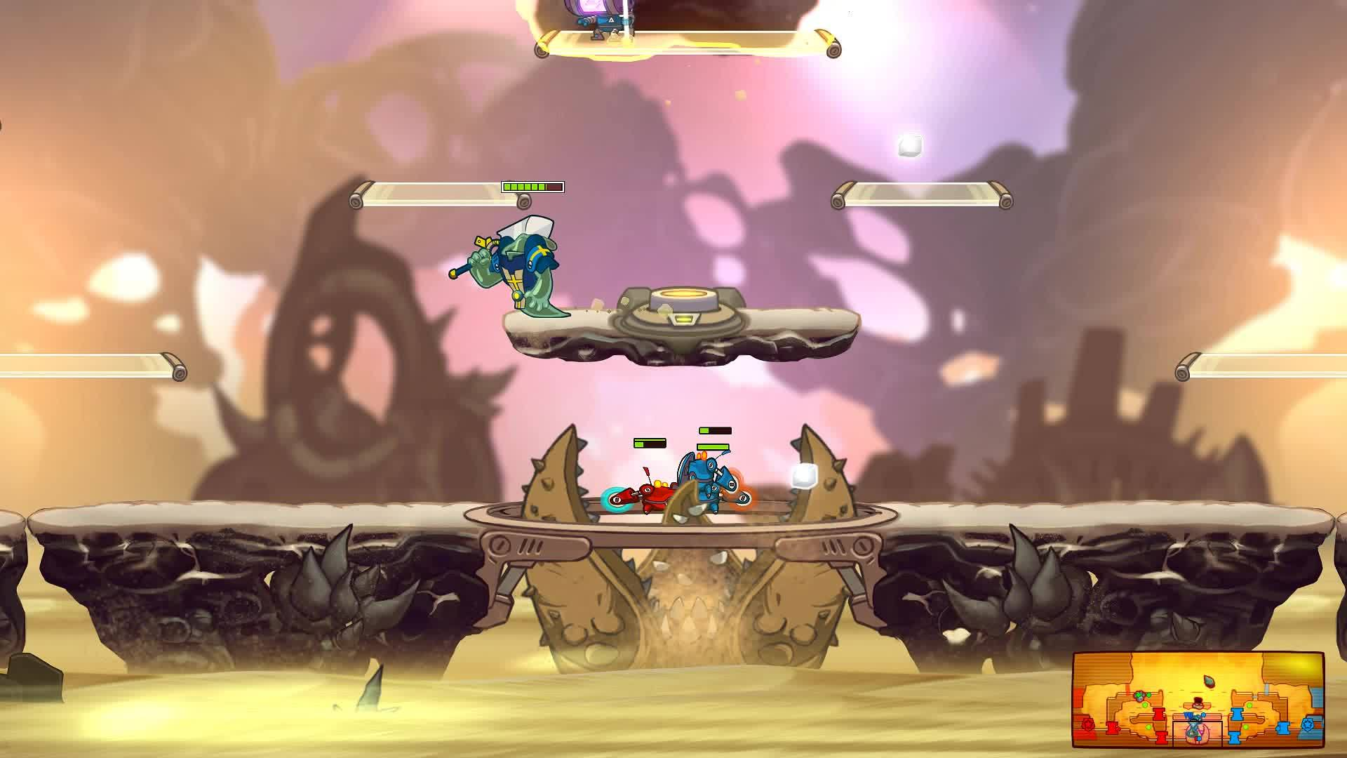 awesomenauts, Smooch your friends! GIFs