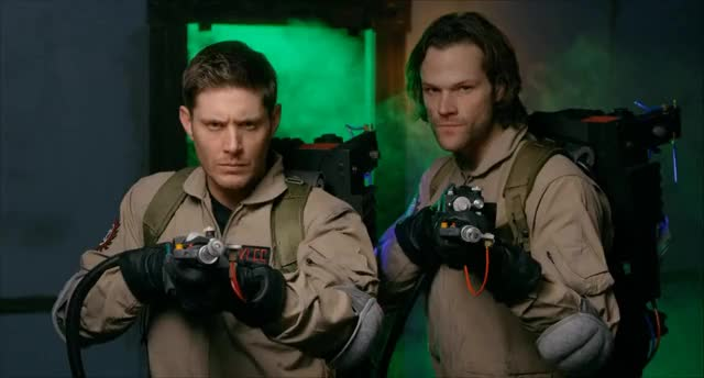 Watch Supernatural Parody 2 by The Hillywood Show® GIF on Gfycat. Discover more castiel, celebs, jared padalecki, jensen ackles, spn, supernatural GIFs on Gfycat
