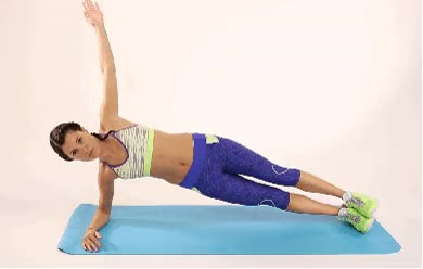 Watch and share Image Result For Side Plank Lifts Gif animated stickers on Gfycat