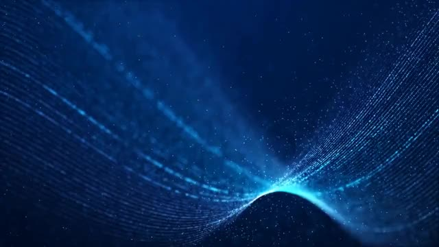 Amazing Wave Particles | 4K Relaxing Screensaver 4k 2160p Relax, Relaxation, Zen, Calm, Meditate, Sleep, Study, UHD, Concentrate, Wave, Particles, Amazing GIF