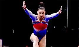 Watch and share Aly Raisman GIFs and Gymnastics GIFs on Gfycat