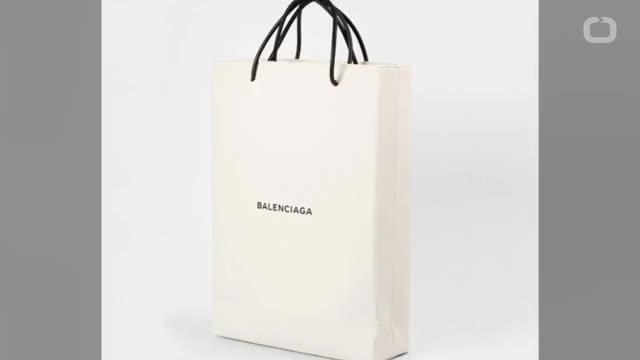 Watch and share Balenciaga's $1,100 Shopping Bag GIFs on Gfycat