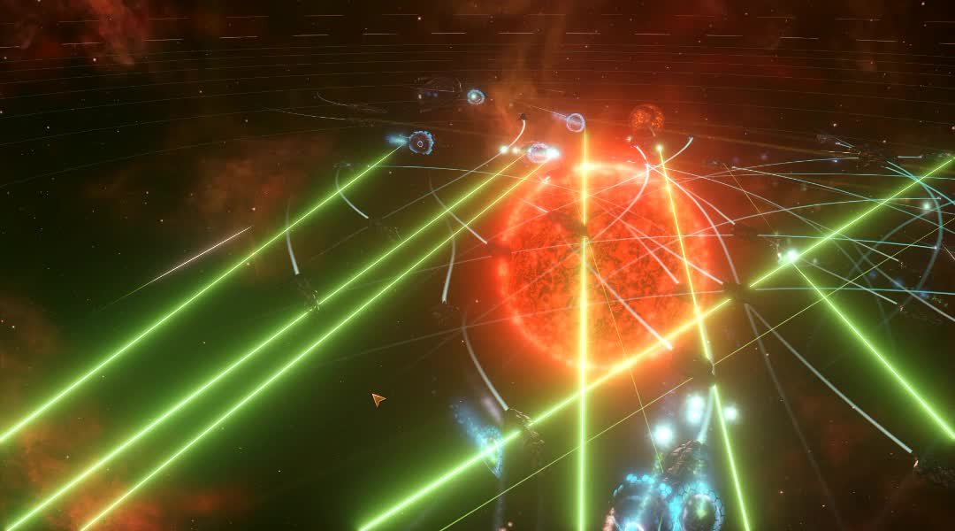 PC, Paradox Interactive, Science Fiction, Space, Stellaris, Strategy, Stellaris Space Battle GIFs