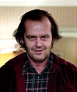 Watch and share Jack Nicholson Shining GIFs on Gfycat