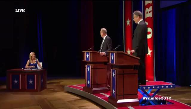 O'Reilly vs Stewart debate GIFs
