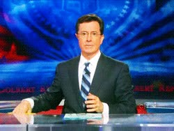 Watch the colbert report stephen colbert gif GIF on Gfycat. Discover more related GIFs on Gfycat