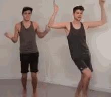 Jim And Alfie Dancing