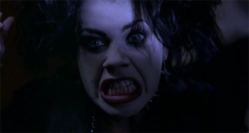 Fairuza Balk, angry, crazy, furious, insane, rage, the craft, witch, Nancy Rage GIFs