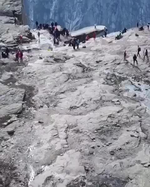 Watch and share Trolltunga, Norway GIFs by tothetenthpower on Gfycat