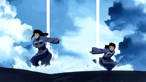 Watch and share Legend Of Korra GIFs and Eska And Desna GIFs on Gfycat