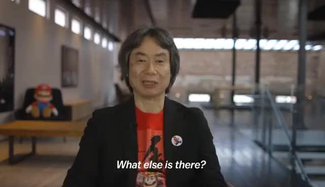 Watch and share What Else Is There? Shigeru Miyamoto Nintendo GIFs on Gfycat