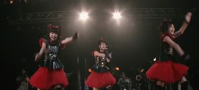 Watch and share Babymetal GIFs and Moametal GIFs by kabamaru_gr on Gfycat