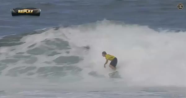 Watch Brent Dorrington massive air at Reef Hawaiian Pro (reddit) GIF on Gfycat. Discover more surfing GIFs on Gfycat