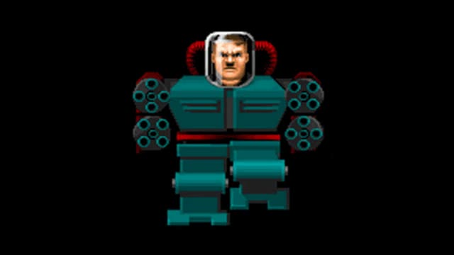Watch and share Mecha-Hitler From Wolfenstein 3D, Inspired By Adolph Hitler. GIFs on Gfycat