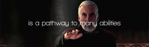 Watch Sith lord GIF on Gfycat. Discover more christopher lee, count dooku, darth tyrannus, lord of the rings, r.i.p, saruman, star wars GIFs on Gfycat