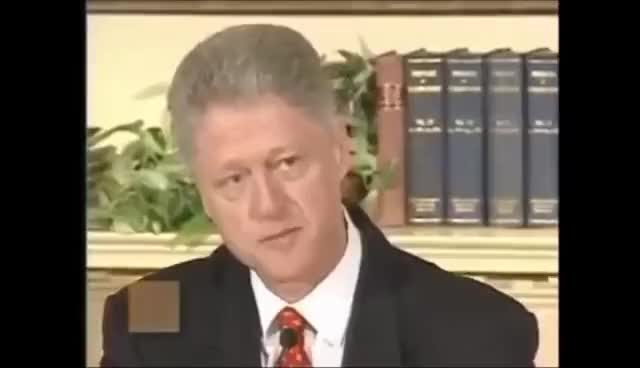 Watch and share Bill Clinton - I Did Not Have Sexual Relations With That Woman GIFs on Gfycat
