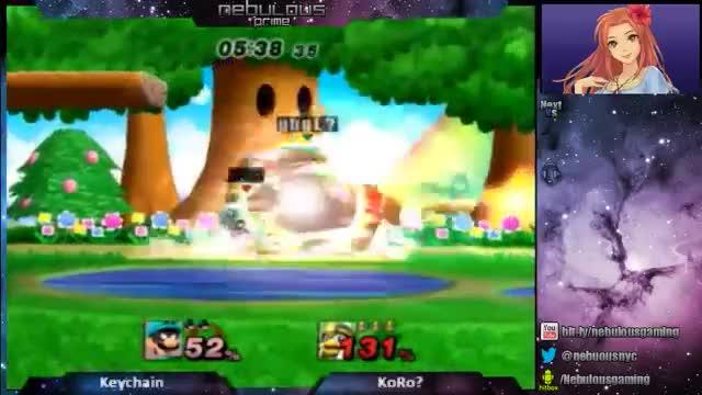 Watch Keychain (Dedede) vs Koro (Luigi) GIF by VEEEEEEEJ (@keychain_ssb) on Gfycat. Discover more gabagool, project m, surprise GIFs on Gfycat