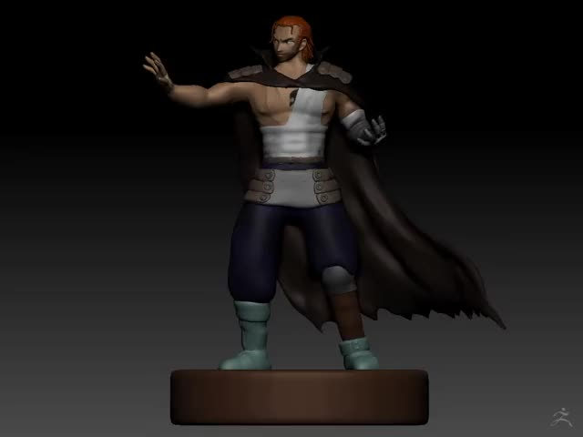 Watch Gildarts Sculpt Turnaround GIF on Gfycat. Discover more Zbrush, fairytail GIFs on Gfycat