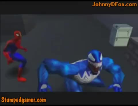 Watch and share Spider-Man - 12 - Symbiotes Infest Bugle GIFs on Gfycat