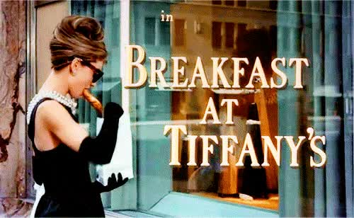 Watch this breakfast at tiffanys GIF on Gfycat. Discover more breakfast at tiffany's, breakfast at tiffanys GIFs on Gfycat