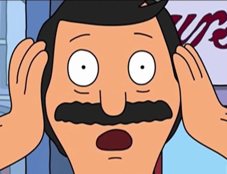afraid, bob, bob's, burgers, god, my, oh, omg, scared, surprise,  'Oh My God' - 'Bob's Burgers' GIFs