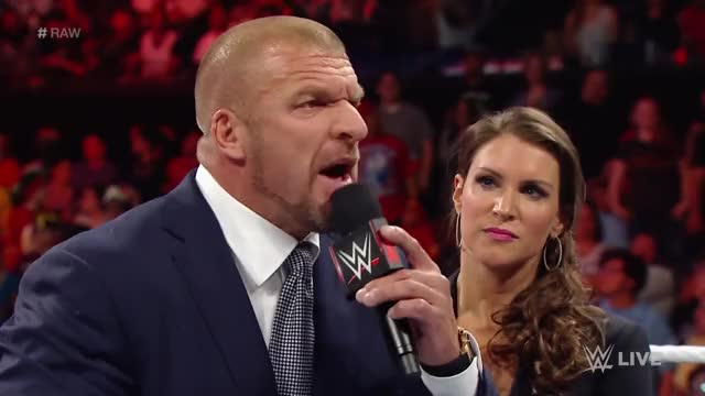 Watch The Authority & John Cena Segment GIF on Gfycat. Discover more John Cena (TV Personality), Stephanie McMahon (Organization Leader), The Authority, Triple H (TV Personality), WWE RAW (Recurring Competition), Wrestling (Sport), best for business, john cena, triple h GIFs on Gfycat