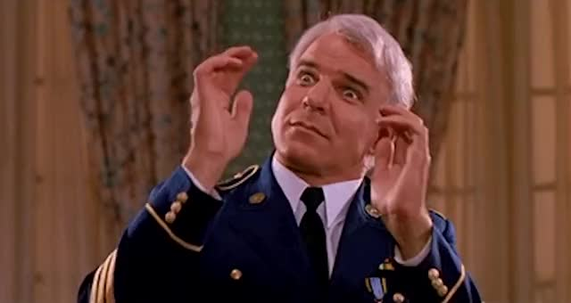 Watch and share Steve Martin GIFs and Mind Blown GIFs by Reactions on Gfycat