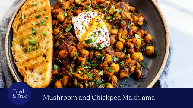 Watch and share Mushroom And Chickpea 'Makhlama' GIFs by triedandtruerecipes on Gfycat