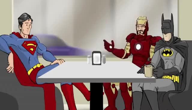 Watch and share Superheroes GIFs on Gfycat