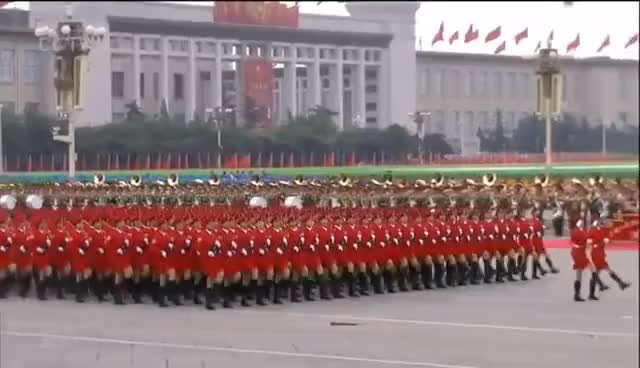 Watch and share Chinese Female Soldiers-China 60th Anniversary Military Parade GIFs on Gfycat