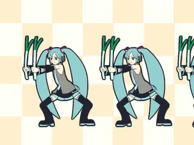 Watch Miku Army   Hatsune Miku / Vocaloid GIF on Gfycat. Discover more related GIFs on Gfycat