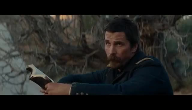 Watch and share HOSTILES  Christian Bale. GIFs on Gfycat